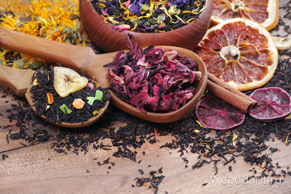 асорті з індійського чаю