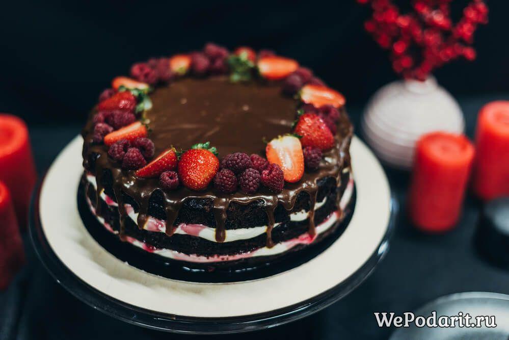 полуничний торт своїми руками
