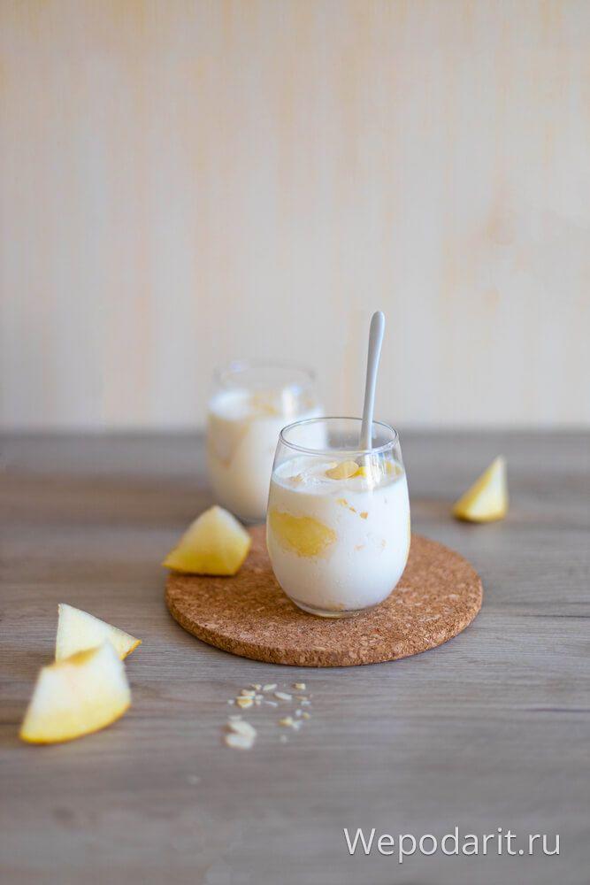 ніжний йогурт з динею