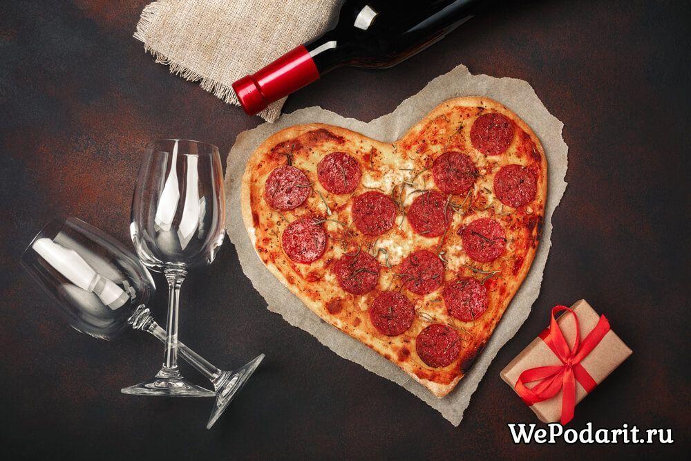 Піца в форма серця