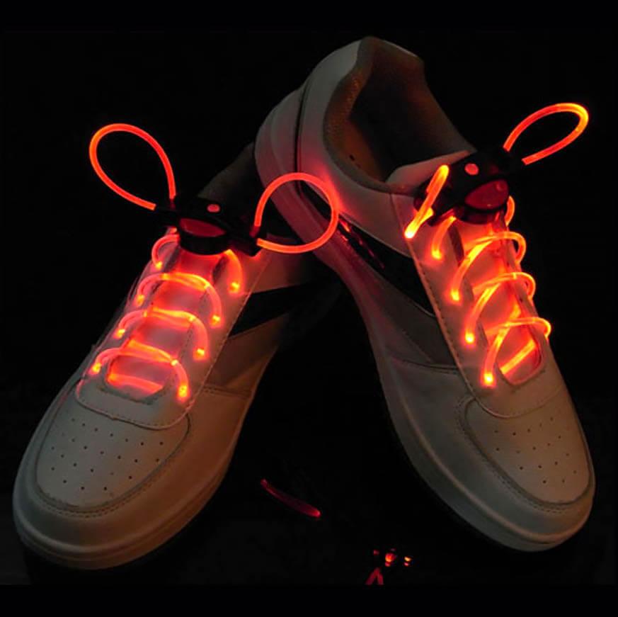 Сяючі шнурки помаранчеві